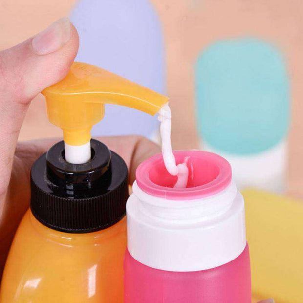 Portable Silicone Travel Bottle - FlareTrends