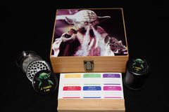 "Large Star Wars ""Yoda"" Bamboo Stash Box Set"