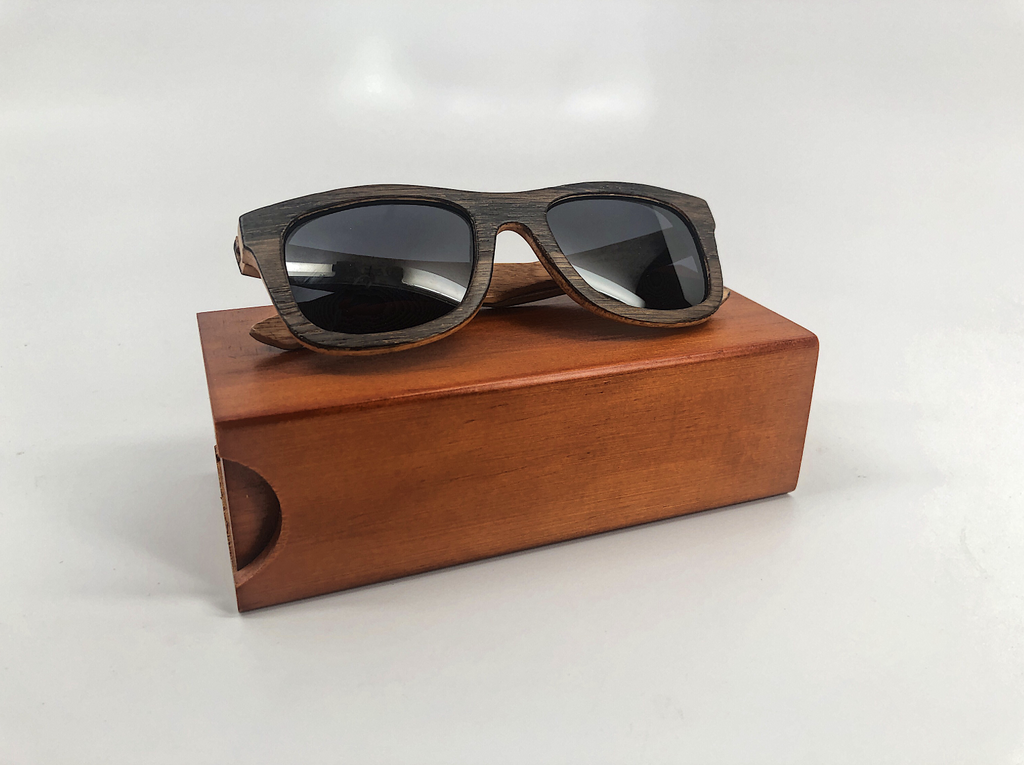 Enter to win FREE Authentic Bourbon Barrel Wood Sunglasses
