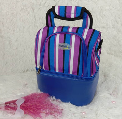 Sannea double compartment thermal & cooler bag Blue