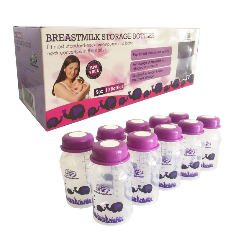 Fabulous Mom Breastmilk Storage Bottle 10s