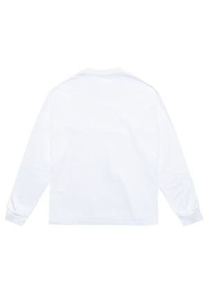 Sunset Long Sleeve T-Shirt White