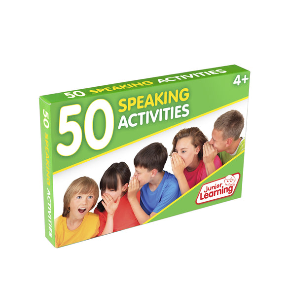 50 Speaking Activities