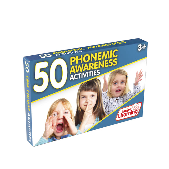 50 Phonemic Awareness Activities