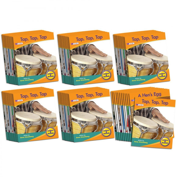Decodable Readers Phase 2 - Letter Sound Non-Fiction (6-Pack)