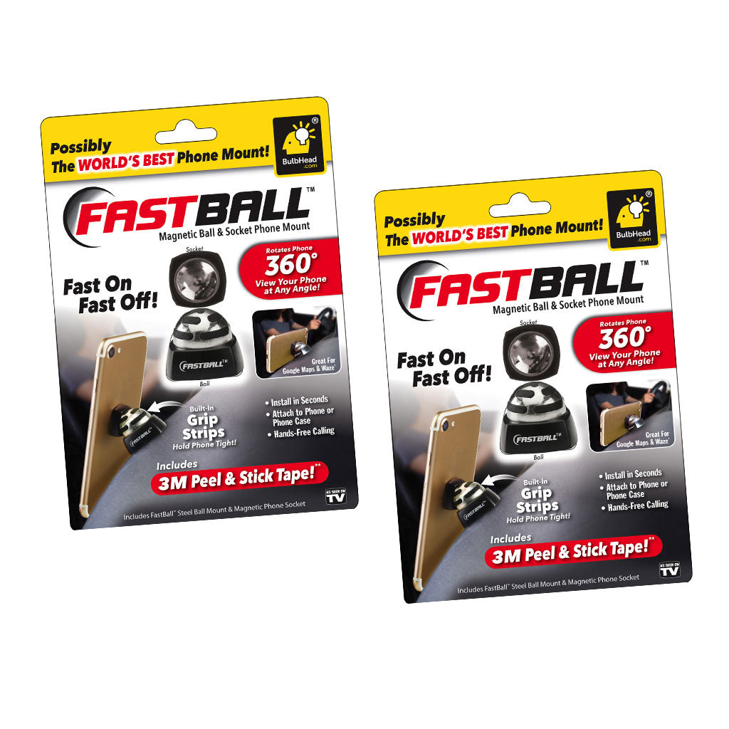 Deluxe FastBall Patented Magnetic Media Mount