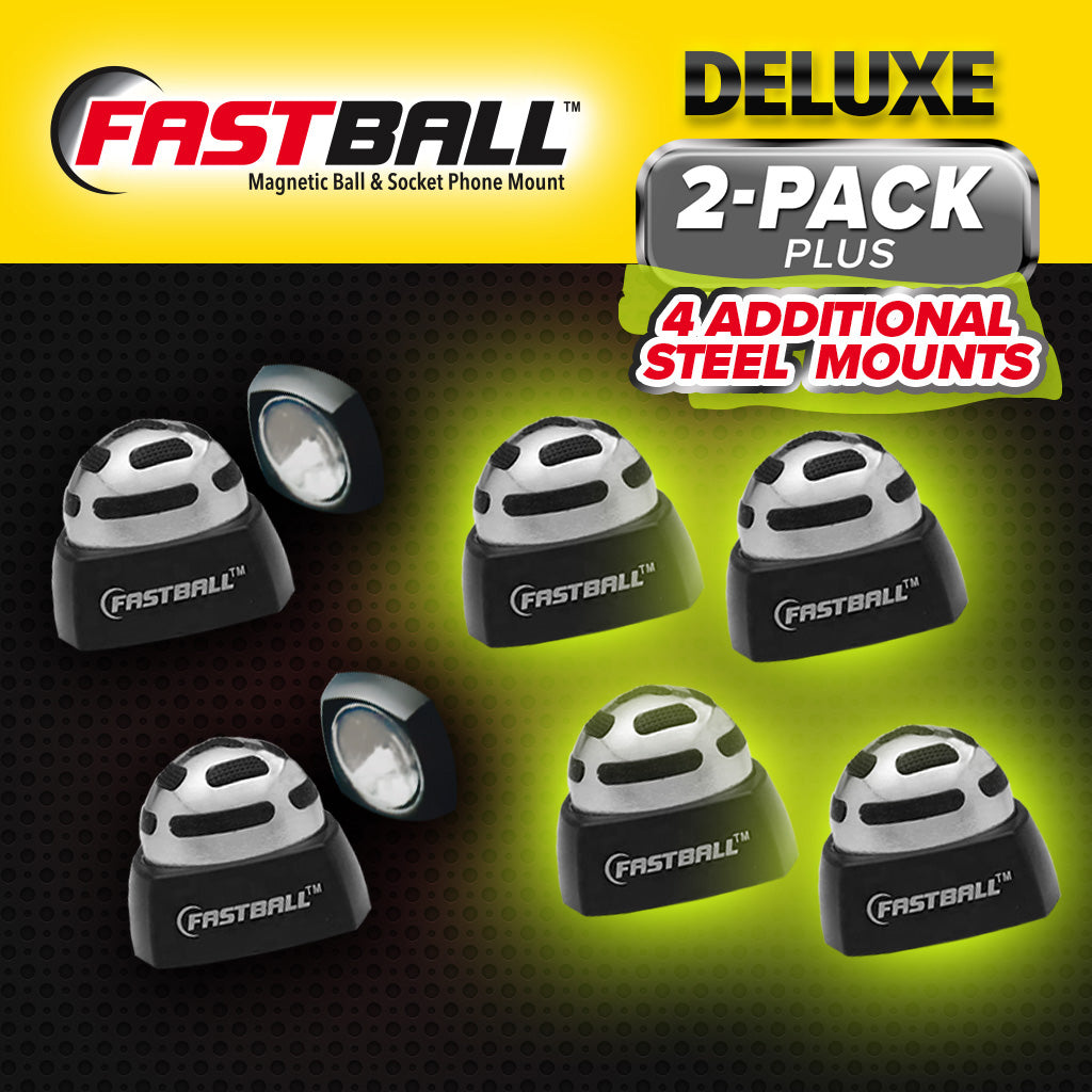 Deluxe 2-pack with additional four mounts