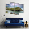 A Typical Cliff Landscape at Cork, Ireland Multi Panel Canvas Wall Art