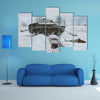 Military Tank Of Russia Multi Panel Canvas Wall Art