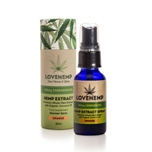 CBD Oil UK Spray 30ml 400mg Orange - Love Hemp