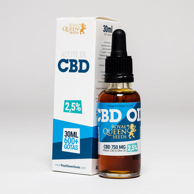 CBD Oil UK 30ml 750mg - Royal Queen Seeds