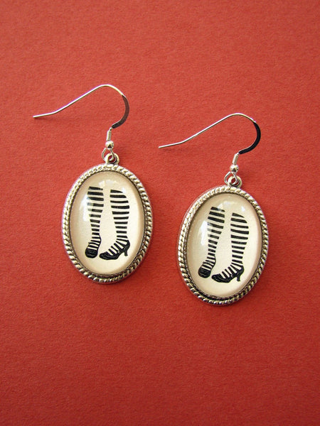 WAITING for the PHONE to RING Earrings - Silhouette Jewelry