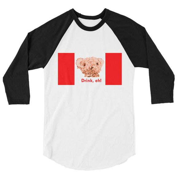 Liquorstore Bear Canadian baseball shirt