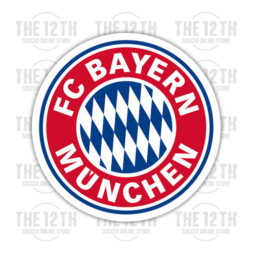 FC Bayern Munich Removable Vinyl Sticker Decal - 12 Soccer Tee