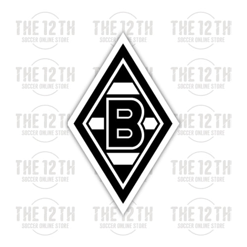 Borussia Monchengladbach Removable Vinyl Sticker Decal - 12 Soccer Tee