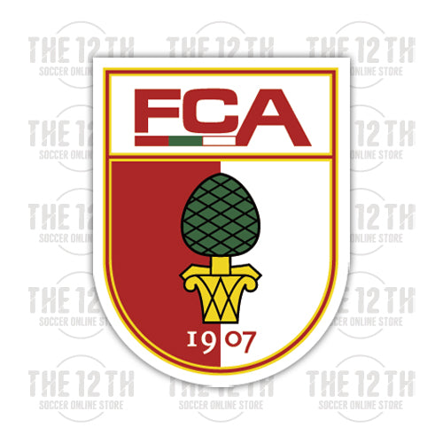 FC Augsburg Removable Vinyl Sticker Decal - 12 Soccer Tee