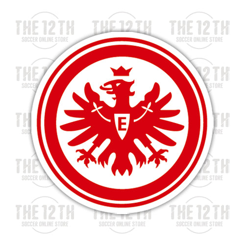 Eintracht Frankfurt Removable Vinyl Sticker Decal - 12 Soccer Tee