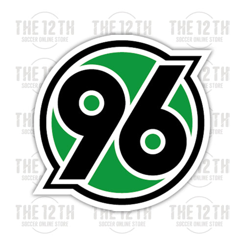 Hannover 96 Removable Vinyl Sticker Decal - 12 Soccer Tee