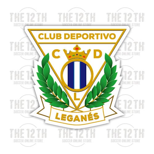 CD Leganes Removable Vinyl Sticker Decal - 12 Soccer Tee