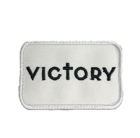 Victory Patch (White/Black)
