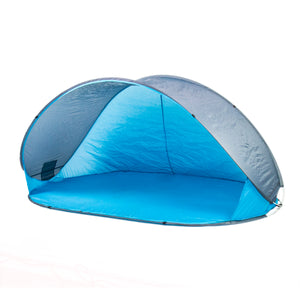 Pop-Up Beach Shelter in Blue