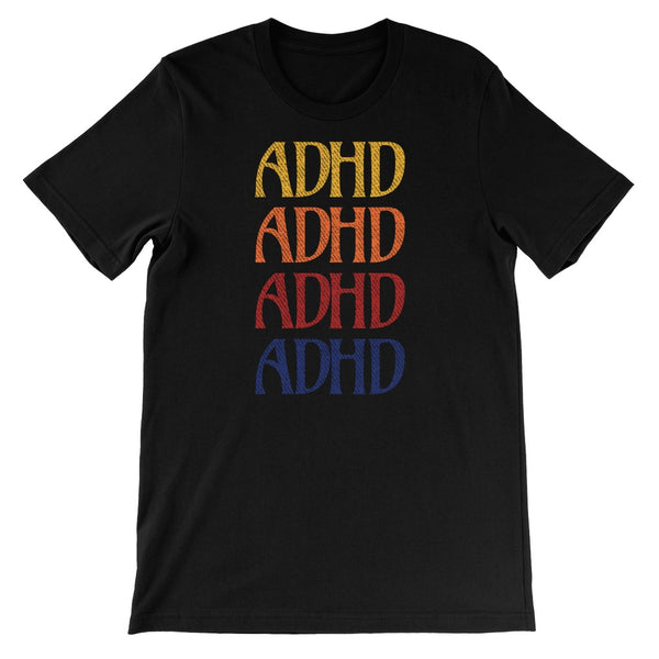 ADHD Unisex Short Sleeve T-Shirt