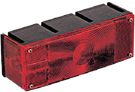 Trailer Tail Light - Optronics - Driver's side