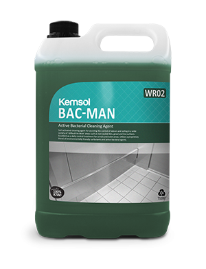BAC-MAN ACTIVE BACTERIAL CLEANING AGENT