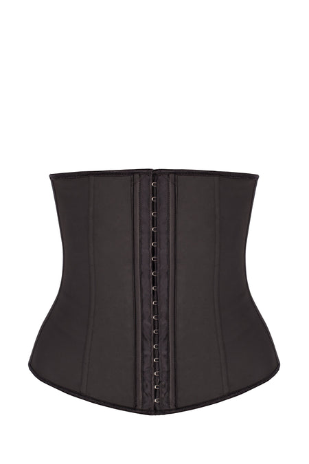 Womens Sport Latex Waist Trainer Cincher Corset Shapewear