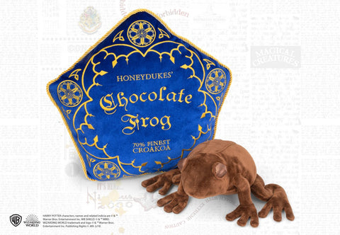 Chocolate frog plush