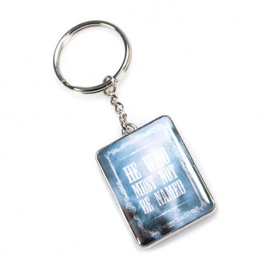 He Who Must Not Be Named Keyring
