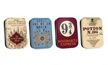 Harry Potter Tins (set of four)