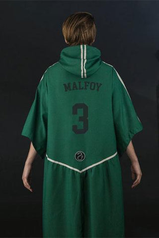 Harry Potter Personalized Slytherin Quidditch Robe( Capes & Robes Harry Potter)