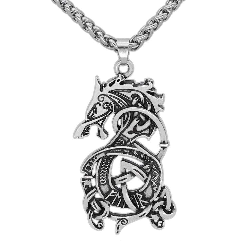 Fenrir The Monster Wolf of Norse Mythology Necklace