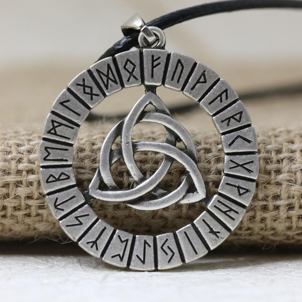 Triquetra Viking Pendant Necklace