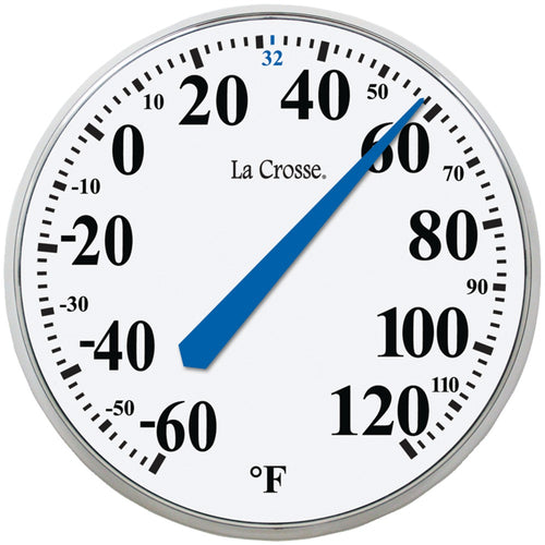 "La Crosse Technology 13.5"" Round Thermometer"