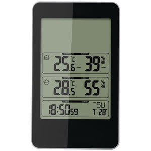 Taylor Indoor And Outdoor Digital Thermometer With Barometer & Timer