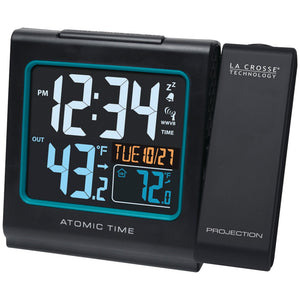 La Crosse Technology Projection Alarm With Color Display