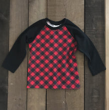 Jersey Raglan Top For Toddler Boys - Two|Three|Four