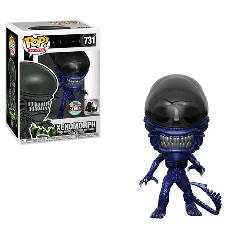 Alien - Xenomorph Blue Metallic 40th Anniversary Specialty Series Exclusive Pop! Vinyl - Pop! Vinyl