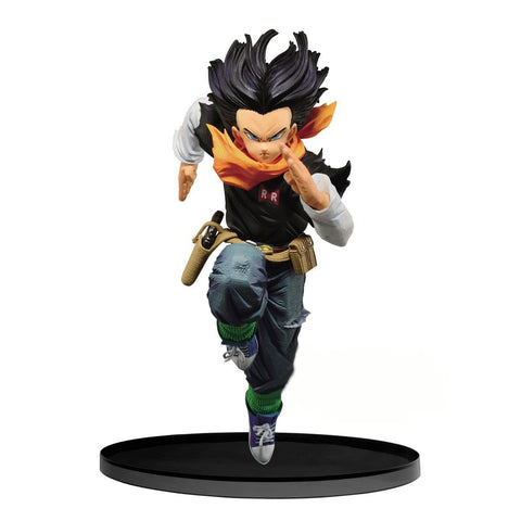 Dragon Ball Z - World Figure Colosseum 2 (Vol 3): Android 17 (Normal Color Version) - Vinyl Figure