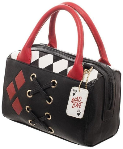 Harley Quinn Dottie Mini Satchel Handbag - Bags & Accessories