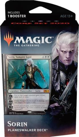 Magic the Gathering: Core Set 2020 Sorin Planeswalker Deck - TCG