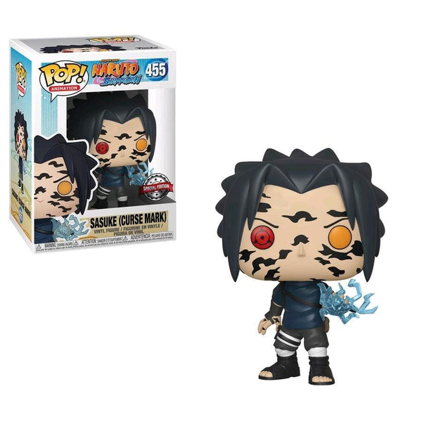 Naruto - Sasuke Curse Mark US Exclusive Pop! Vinyl [RS] - Pop! Vinyl