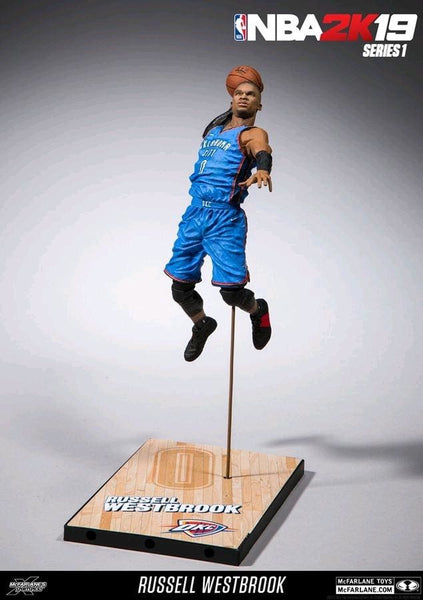 NBA - 2K Series 01 Russell Westbrook Action Figure - Action Figure