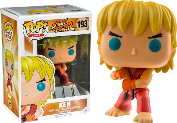 Street Fighter - Ken (Special Attack) Pop! !e Rs - Pop! Vinyl