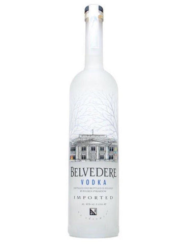 Belvedere Pure Vodka 70cl - Drinksdeliverylondon