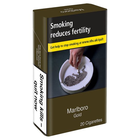 Marlboro Gold  20 Pack - Drinksdeliverylondon
