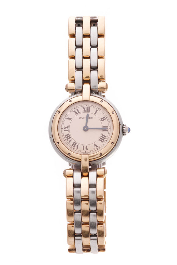 Cartier Panthere Vendome Watch Steel Gold