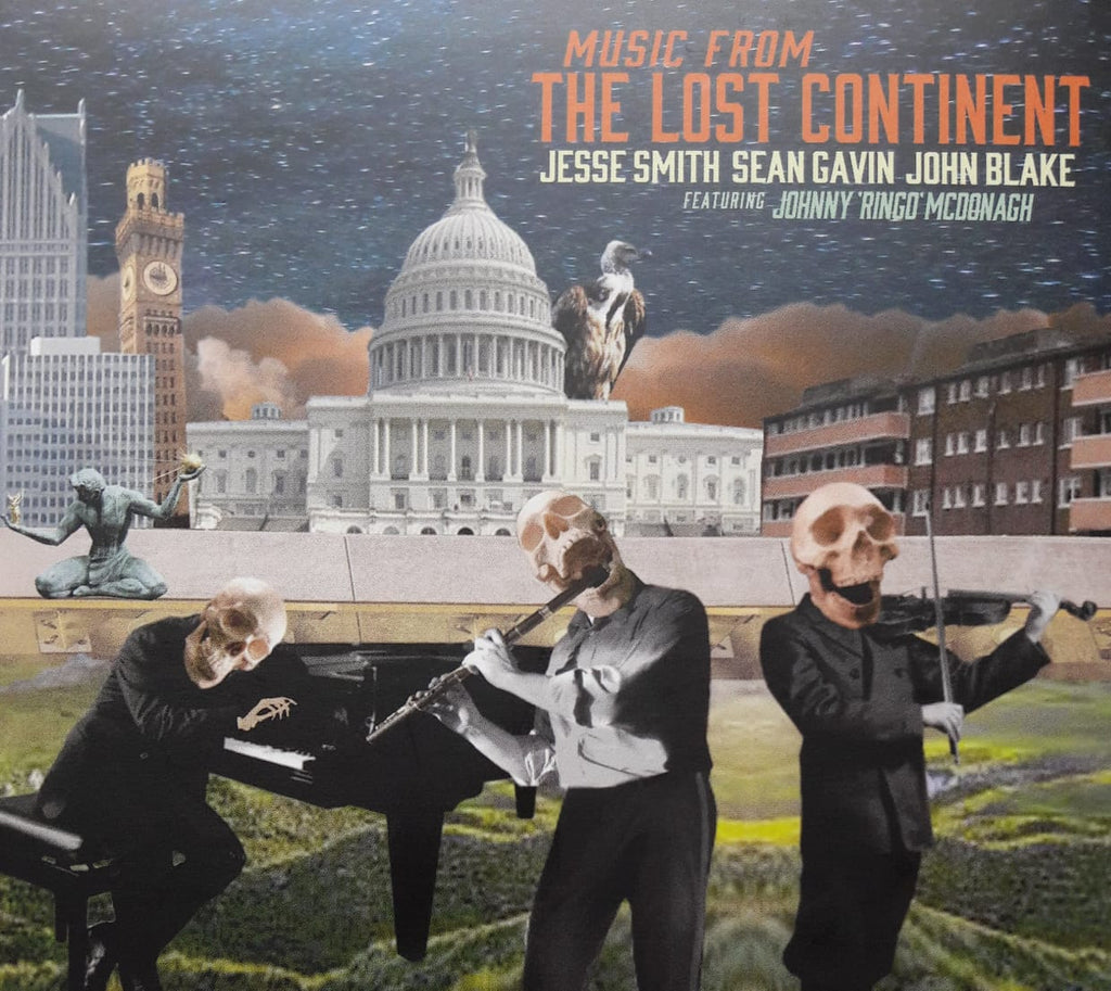 Jesse Smith, Sean Gavin, John Blake with Johnny Ringo McDonagh<h3>Music From The Lost Continent